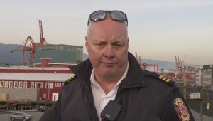 Presser: Vancouver fire department updates Port fire situation