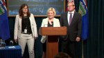 Alberta Premier Notley speaks to media after second cabinet meeting