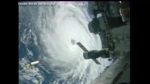 International Space Station records orbital view of three different hurricanes