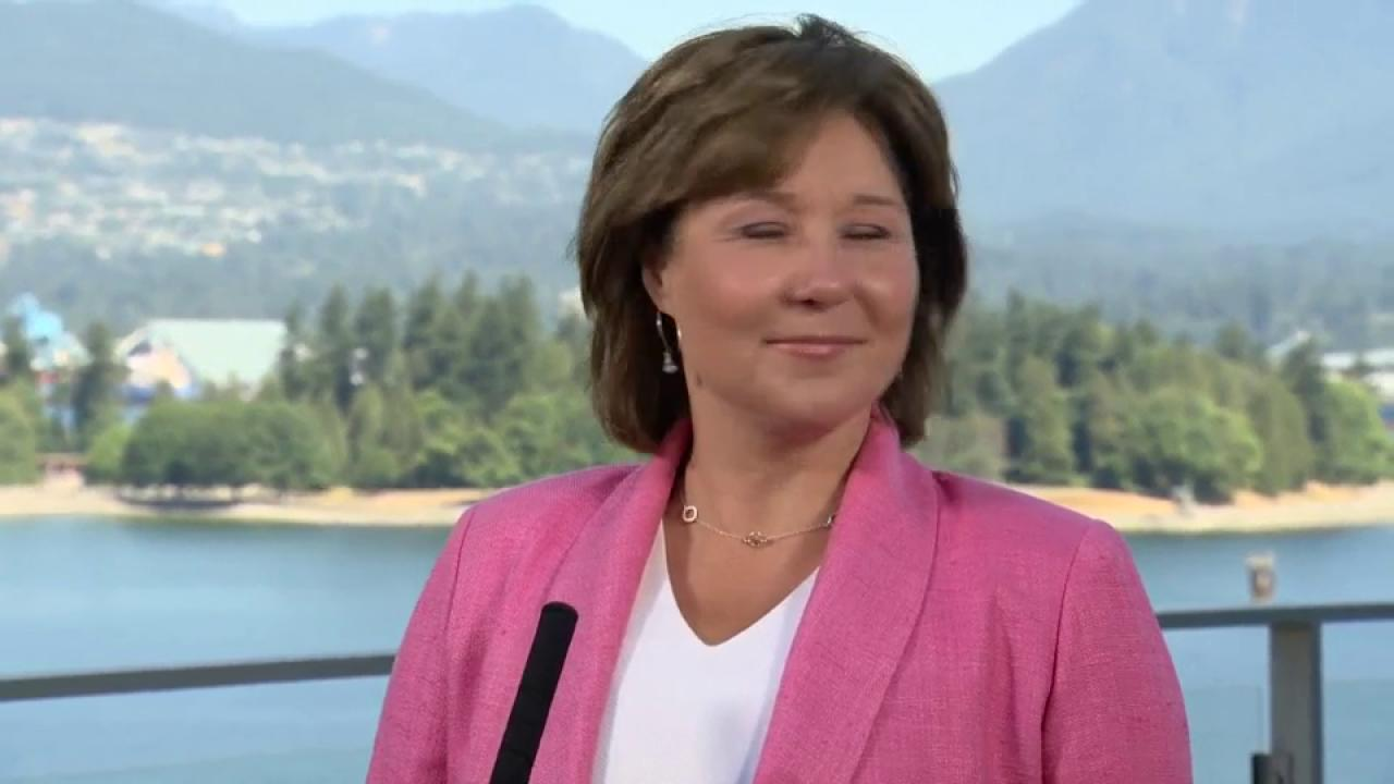Ex BC premier Christy Clark leaving politics for good