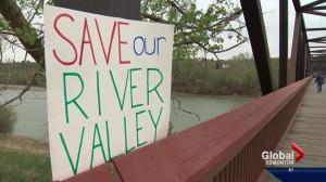 River valley advocates vow to continue fighting to save Cloverdale Footbridge
