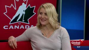 Hayley Wickenheiser hangs up her skates