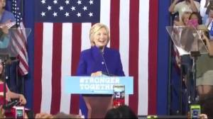 Clinton, Trump prepare for 1st presidential debate