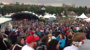 Dangerous winds force Edmonton Folk Music Festival to shut down