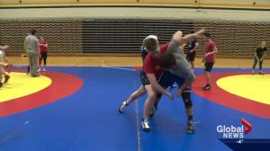 University of Alberta wrestling team brings in Americans for the first time