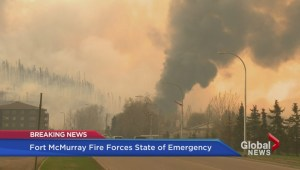 Dramatic moments from Fort McMurray wildfire