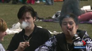 Albertans show support for marijuana at 4/20 rally at legislature