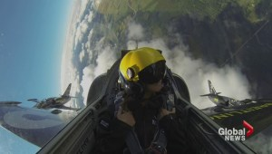 Breitling Jet Team takes Susan Hay along for a ride