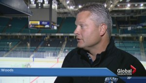 Cameron Hausinger hoping to earn spot on Saskatoon Blades roster