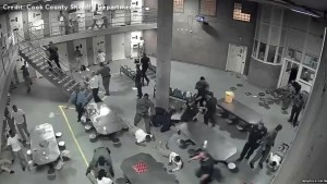 Eight inmates, two guards hospitalized following massive brawl at Illinois jail