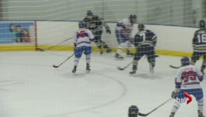Game three highlights of the OJHL's Battle of Toronto between the Patriots and Jr. Canadiens