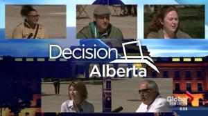 Edmontonians weigh in on Alberta election campaign
