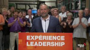 Tom Mulcair promises to get auto sector moving again