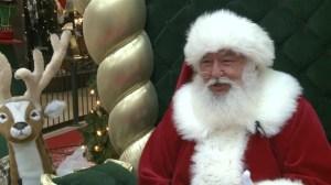 Santa rescues man in ditch