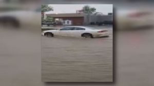Storm causes flash flooding in Fort St. John