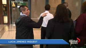 Lucia Jimenez Inquest: Key witness heckled