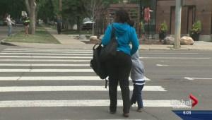 City looking to make Edmonton crosswalks safer