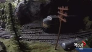 Supertrain rolls into Calgary