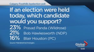 Calgary-Foothills byelection could be a close race