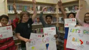 Mississauga school cheers on student at prestigious spelling bee