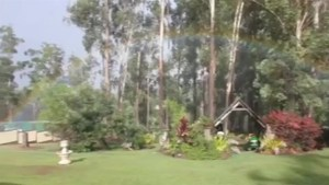 Caught on camera: Australian woman captures 'backyard rainbow'