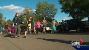"""Global's """"5 for the Fort"""" run raises thousands of dollars for Fort McMurray wildfire evacuees"""