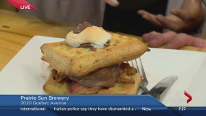 International waffle day at Prairie Sun Brewery
