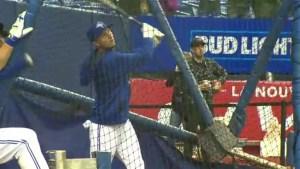 Baseball fans flock to Big O, for pre-season Jays match