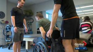 Calgary clinic uses new technology to help people with spinal cord injuries, MS