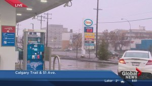 Gas prices jump significantly in Edmonton