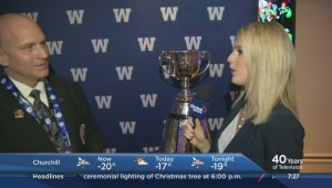 103rd Grey Cup festivities kick off Thursday morning with the Bomber Breakfast