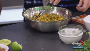 Saturday Chef: Mango and peach with pineapple salsas