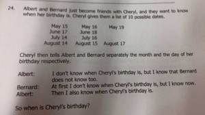 Anchors can't understand 'Cheryl's birthday' internet phenomenon