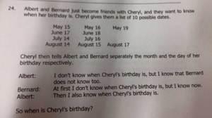 Anchors can't understand 'Cheryl's birthday' internet phenomenon