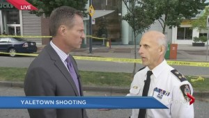 Major police operation involved in Yaletown shooting