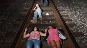 Poll indicates concern for U.S. race relations, protests spread to train tracks