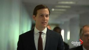 Jared Kushner arrives for testimony before U.S. Congressional committee