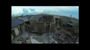 Drone footage captures recovery efforts in China following typhoon