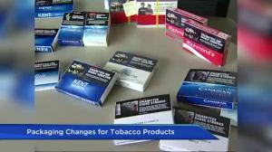 Federal government announces move to standardize tobacco packaging