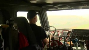 Williams Lake firefighter ride-along