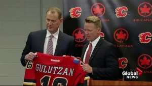 Glen Gulutzan takes over as Calgary Flames head coach