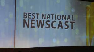 "Global National takes home ""Best National Newscast"" at Canadian Screen Awards"