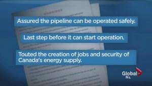 Enbridge Pipeline Approved
