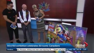 Celebrating Canada's history through art