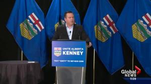 Kenney speaks to hundreds in Edmonton during PC leadership campaign