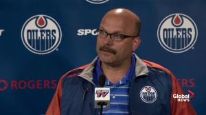 Oilers GM Peter Chiarelli offers description on new acquisition Adam Larsson