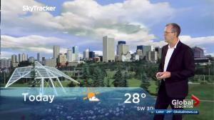 Edmonton morning weather forecast: Sunday, August 13, 2017