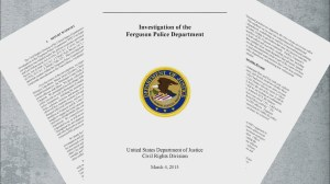 Scathing DOJ report on Ferguson, MO police dept.