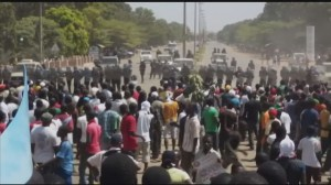 Amateur video takes us inside the heart of the Burkina Faso protests