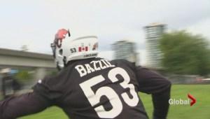 CFL rookie Alex Bazzie